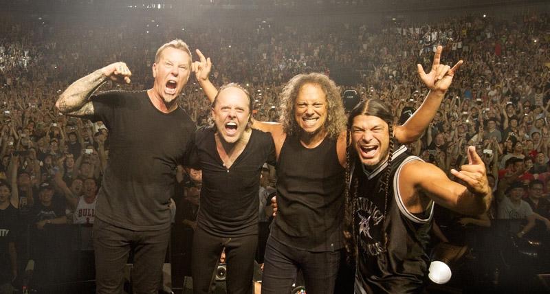 Revive el concierto de Metallica previo a la noche del Super Bowl