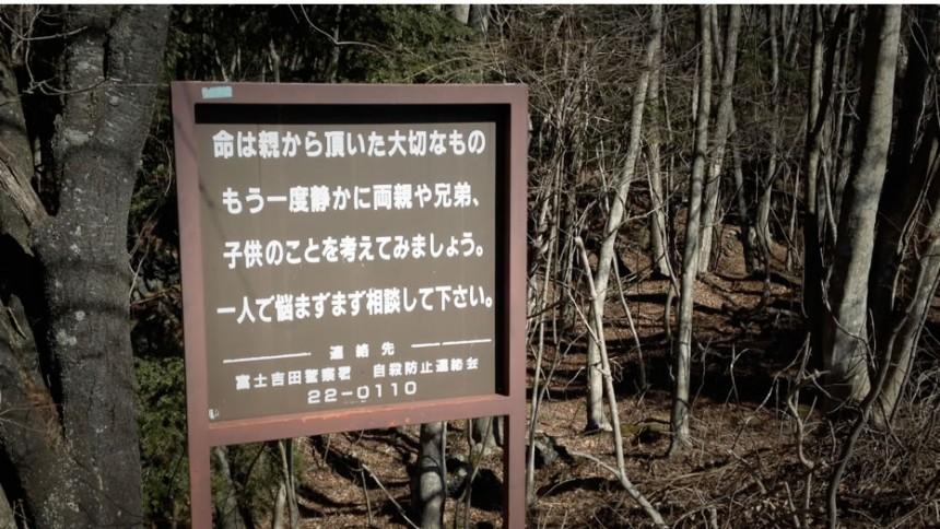 bosque de los suicidios
