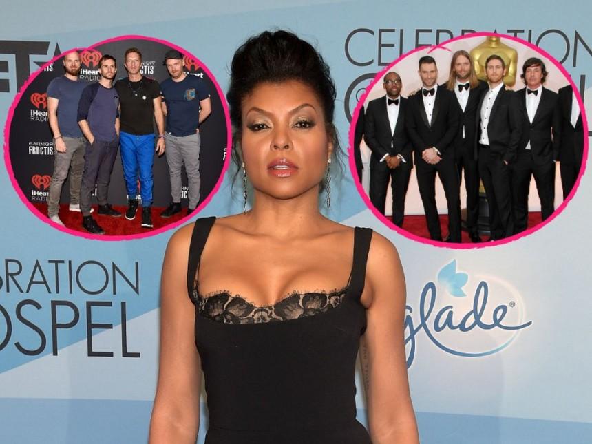 'El oso' del Super Bowl 50: actriz confunde Coldplay con Maroon 5