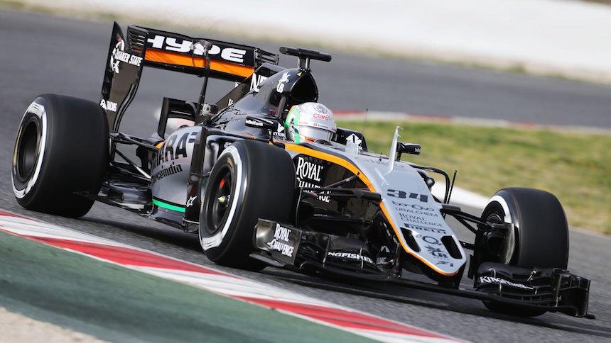 Force India y Haas presentaron los monoplazas de Checo y Esteban Gutiérrez