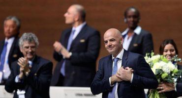 Joseph Blatter y la felicitación más hipócrita para Gianni Infantino