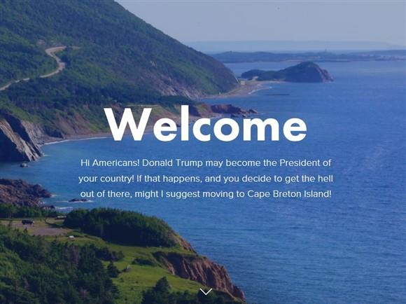 Isla canadiense ofrece refugio en caso que Donald Trump gane la presidencia