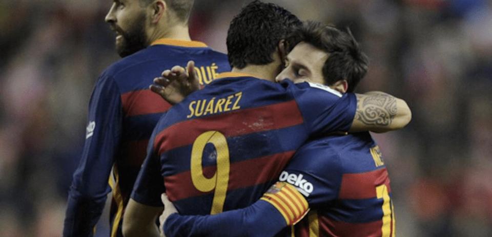 300 goles de Messi en La Liga y la victoria del Barcelona sobre el Sporting de Gijón
