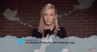 Vean a Cate Blanchett, Eddie Redmayne, Christoph Waltz y más actores leer tweets ofensivos