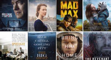 Rumbo al Oscar 2016:  Dónde ver las películas nominadas