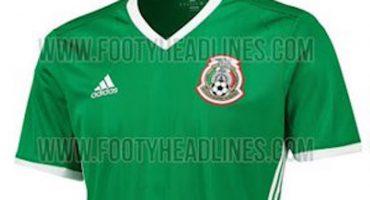 Esta sería la nueva playera de la Selección Mexicana
