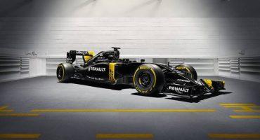 Renault presentó su monoplaza para la temporada 2016 de la F1