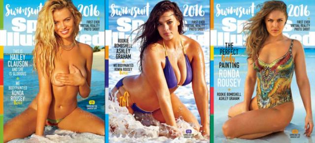Sports Illustrated sacará 3 portadas para su edición de trajes de baño 2016