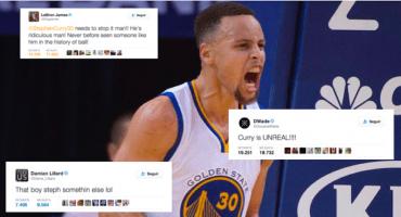 La NBA se entrega a Stephen Curry