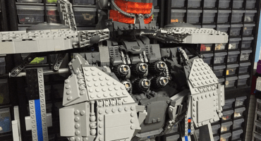 Esta replica en Lego de un Jaeger de Pacific Rim es increíble