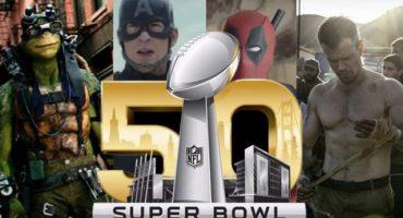 Todos los trailers de películas que aparecieron en el Super Bowl 50