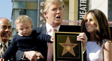 Vandalizan la estrella de Donald Trump en el paseo de la fama