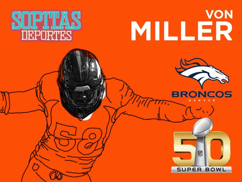 Von Miller es el MVP del Super Bowl 50