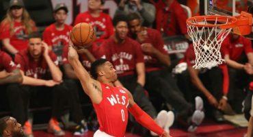 Russell Westbrook es el MVP del All-Star Game de la NBA