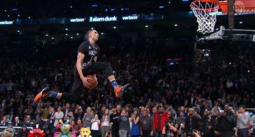 Por estas clavadas Zach LaVine es el campeón del Slam Dunk de la NBA