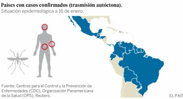 En Colombia se reporta que más de 3 mil mujeres embarazadas tienen Zika