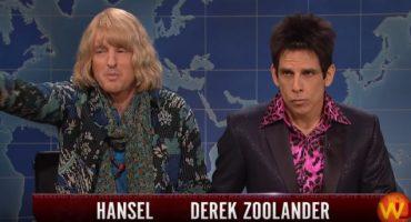 Zoolander y Hansel hablan de lo que todo buen supermodelo debe hablar: política