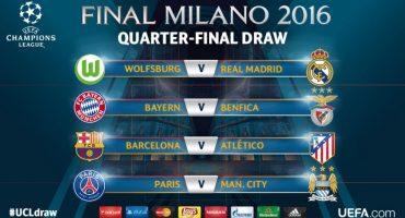 Análisis de cada partido de los 4tos de Final en la Champions League
