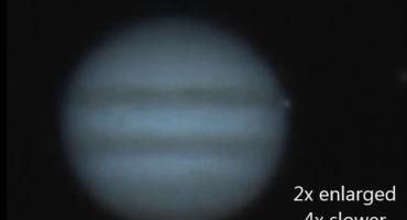 Un objeto desconocido se estrelló contra Júpiter y todo fue capturado en video