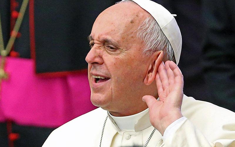 Papa Francisco se echa pa'tras: Hombres casados no serán sacerdotes