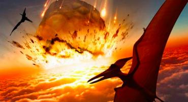 Lo que posiblemente ocurrió cuando cayó el asteroide que mató a los dinosaurios