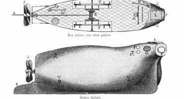 Van unas fotos del U-Boat, el antepasado de los submarinos en la Primera Guerra Mundial