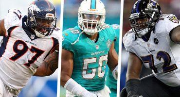 Los 20 mejores agentes libres en la NFL