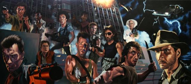 Los héroes de acción en los 90's que marcaron nuestras vidas