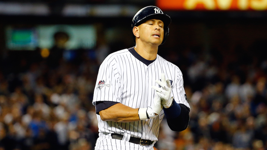 Alex Rodríguez dejará el beisbol en el 2017