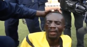 Árbitro es golpeado brutalmente en el Congo