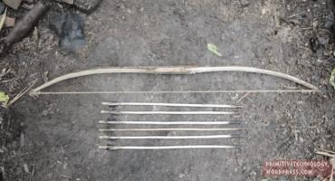 Por si los zombies: ¡Aprende a hacer tu propio arco con flechas!