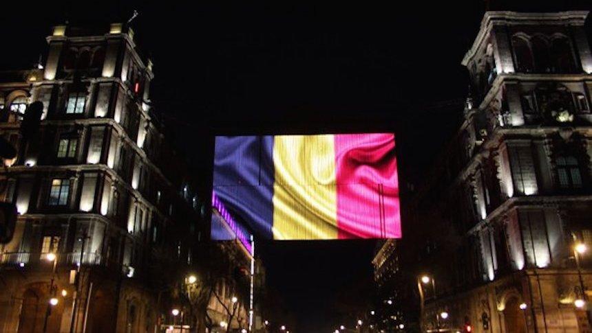 Monumentos de todo el mundo se iluminan con la bandera de Bélgica