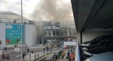 Atentados terroristas en Bruselas dejan al menos 30 muertos y 230 heridos