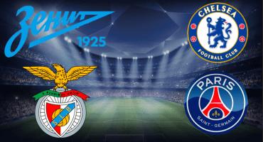 Benfica y PSG son los otros clasificados a los 4tos de Final