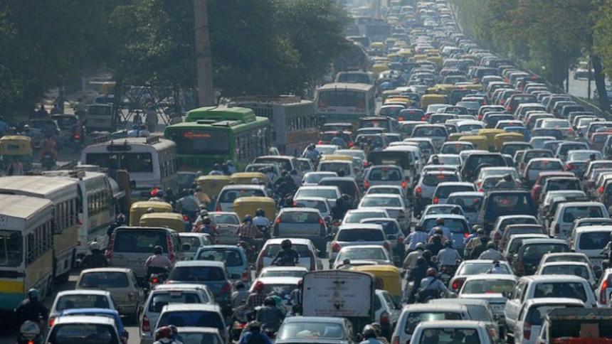 Y la metrópoli con más tráfico del mundo es... la Ciudad de México :(