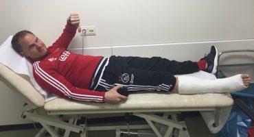 #EpicFail: Frank de Boer se lesionó en un entrenamiento del Ajax