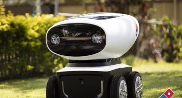 Domino's presenta DRU, el robot repartidor de pizzas