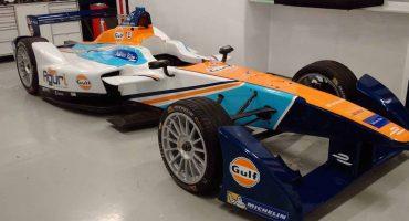 Este es el auto que utilizará Salvador Durán en el Ciudad de México ePrix