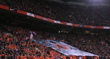 El homenaje en el Holanda vs Francia para Johan Cruyff