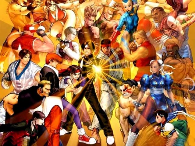El rey de las maquinitas: Street Fighter vs King of Fighters
