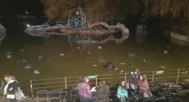 Suspenden función del Lago de los Cisnes en Chapultepec, así reaccionó la gente