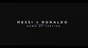 Chequen la parodia de Batman v Superman con Messi y Ronaldo