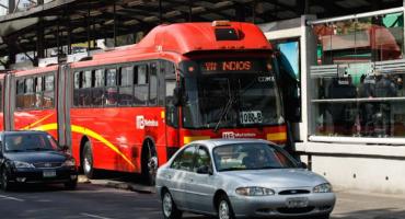 Por contingencia ambiental, esta tarde el transporte público es gratuito en el DF