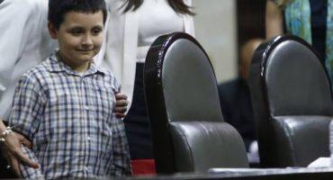 """Niño genio en la Cámara de Diputados: """"No quiero ser como ustedes"""""""