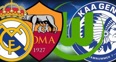 Real Madrid y Wolfsburgo se clasifican a los Cuartos de Final en la Champions