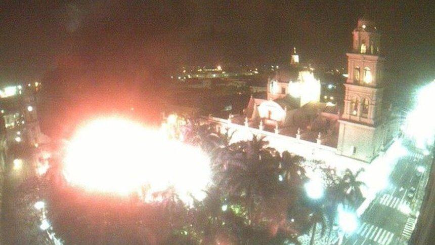 El incendio en el Palacio Municipal de Veracruz pudo haber sido provocado