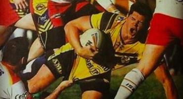 Jugador de rugby casi pierde el pene en un partido