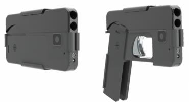 La indetectable pistola en forma de smartphone