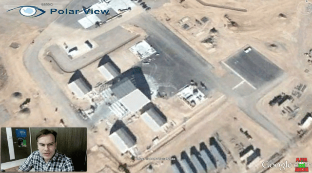 Sujeto dice haber encontrado un ovni en Area 51 usando Google Earth