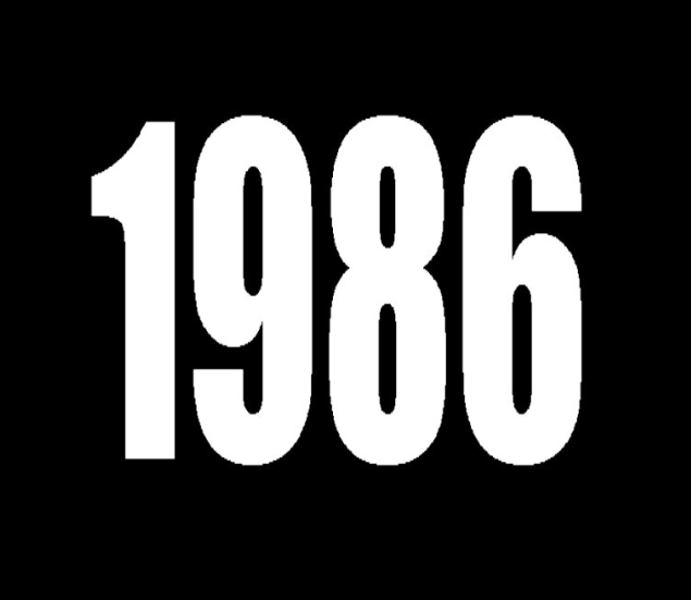 Así era el mundo hace 30 años en 1986